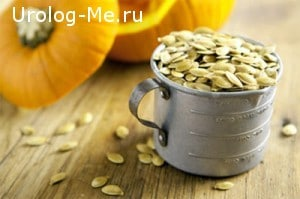 Семена тыквы для лечения простатита