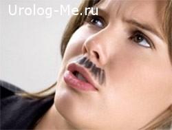 Усы у женщин
